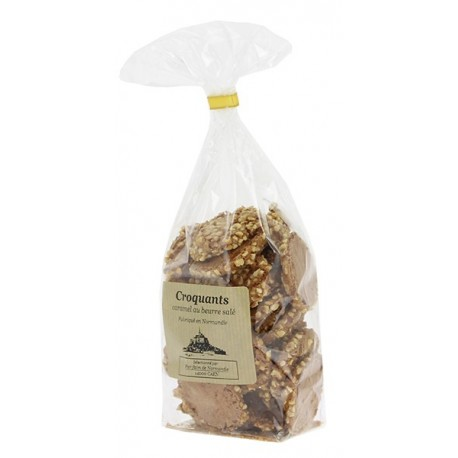 Croquants caramel beurre salé Le Manoir des abeilles 125g