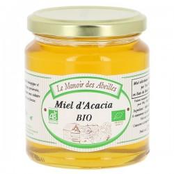 Miel d'Acacia bio 375g Manoir des Abeilles