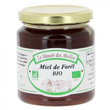 Miel de Forêt bio 375g Manoir des Abeilles