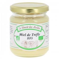 Miel de Trèfle bio 250g Manoir des Abeilles