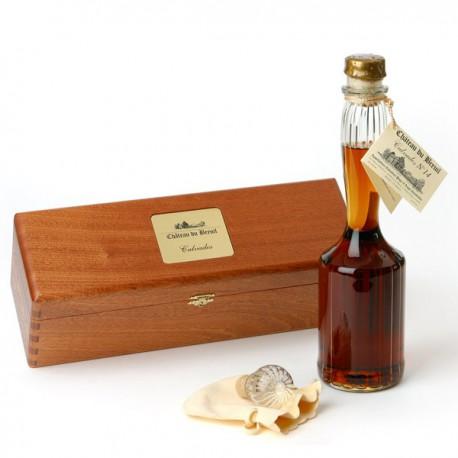 Carafe Calvados N°14 en Coffret Bois Précieux