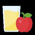 Jus de pomme et poire