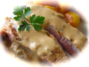 La recette crémeuse de la côte de veau Normande