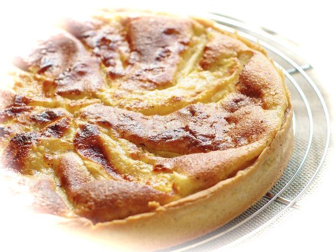 Recette de Normandie de la tarte aux pommes